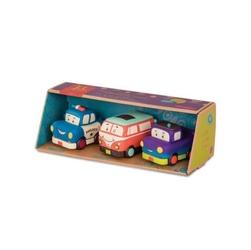 Zestaw 3 mini autek z napędem mini wheeee-ls b.toys