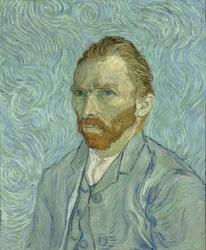 Autoportret Vincent van Gogh - plakat Wymiar do wyboru: 50x70 cm