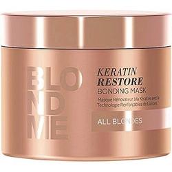Schwarzkopf blondme keratin restore bonding, maska wzmacniająca do blondów 200ml