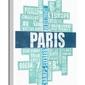 Paris type - obraz na płótnie