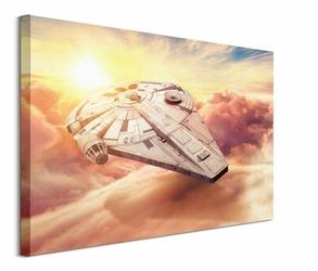 Solo: A Star Wars Story Millennium Falcon - obraz na płótnie