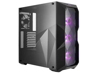 Cooler master obudowa masterbox td500 z oknem, rgb, czarna