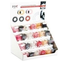 Fox spring hair ring - profesjonalne gumki do włosów sprężynki zestaw 72 sztuki