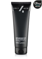 Unit4men męski perfumowany żel pod prysznic 3w1 200ml