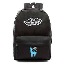 Plecak vans realm backpack custom blue lama - vn0a3ui6blk - blue