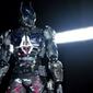 Batman -  arkham knight - plakat wymiar do wyboru: 100x70 cm