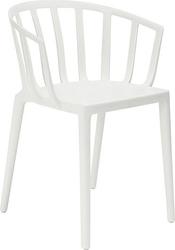 Krzesło venice matowe białe