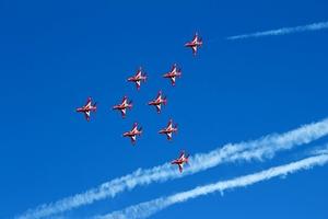 Fototapeta na ścianę niesamowity pokaz lotnictwa fp 2367
