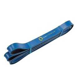 Guma do ćwiczeń gu06 niebiesko-czarna 21 x 5 x 2250 mm - hms - 13,5 - 27 kg
