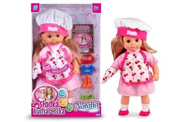 Lalka natalia słodka kuchareczka, lalka kucharka 42cm