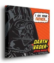 Star wars i am your father - obraz na płótnie