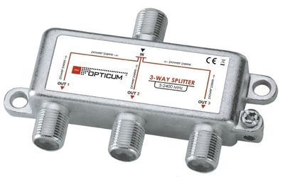 Rozgałęźnik 1-3 dvb-t sat 3x1 - szybka dostawa lub możliwość odbioru w 39 miastach