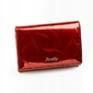 Portfel damski skórzany rfid czerwony rovicky - czerwony