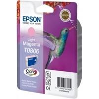 Tusz oryginalny epson t0806 c13t08064011 jasny purpurowy - darmowa dostawa w 24h