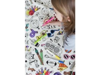 Worek do kolorowania na zabawki omy