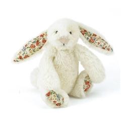 Króliczek bashful baby - kremowy blossom 13 cm - blossom cream