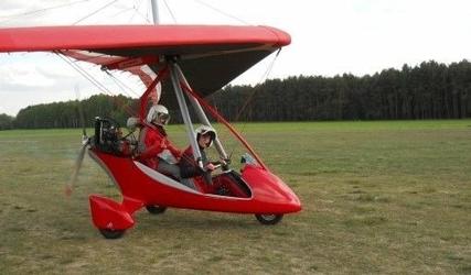 Lot motolotnią - poznań - 15 minut