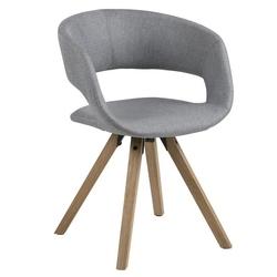 Krzesło gracja skandynawskie szare
