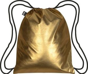 Plecak LOQI Metallic Matt Gold