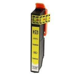 Tusz zamiennik t2634 do epson c13t26344010 żółty - darmowa dostawa w 24h