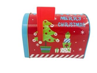 Puszka świąteczna  skrzynka na listy do świętego mikołaja altom design boże narodzenie, dekoracja choinka 15,5 x 9,5 x 11 cm