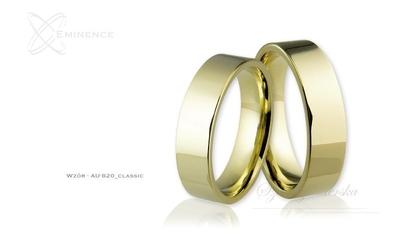 Obrączki ślubne - wzór au-820