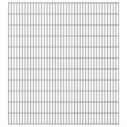 Vidaxl panele ogrodzeniowe 2d - 2008x2230 mm 14 m szare