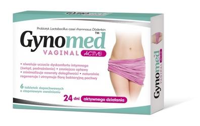 Gynomed vaginal active tabletki dopochwowe x 6 sztuk