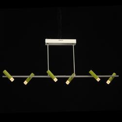 Oświetlenie do nowoczesnej jadalni regenbogen techno biało-zielone 705010106