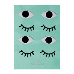 Meri meri – naklejki 3d oczy
