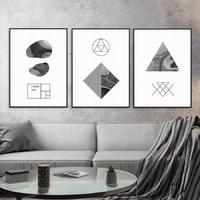 Zestaw trzech plakatów - abstract marble , wymiary - 40cm x 50cm 3 sztuki, kolor ramki - czarny