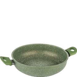 Patelnia głęboka 28 cm anima verde barazzoni z dwoma uchwytami 85500402849