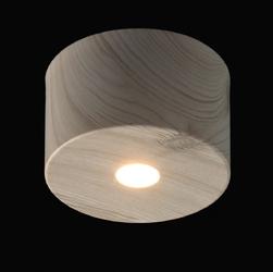Spot led białe drewno regenbogen techno 13,5 x 8 cm 712010701