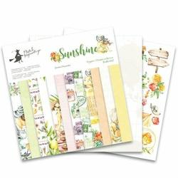 Papier scrapbookingowy Sunshine 30x30 cm - zestaw