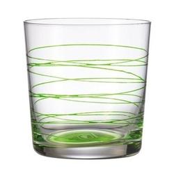 Leonardo - szklanka 0,38 l spirale - zielona