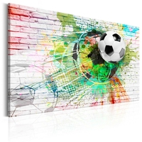 Obraz - kolorowy sport piłka nożna