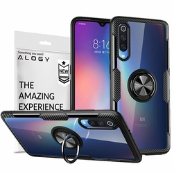 Etui Alogy Ring Holder Clear Armor do Xiaomi Mi 9 SE czarne