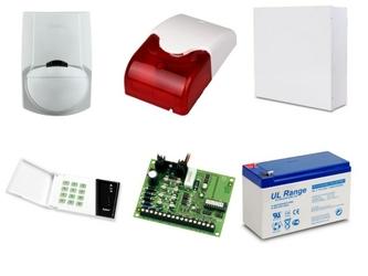Zestaw alarmowy satel ca-4, klawiatura led, 1 czujnik ruchu, sygnalizator wewnętrzny - szybka dostawa lub możliwość odbioru w 39 miastach