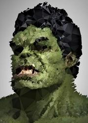 Polyamory - hulk, marvel - plakat wymiar do wyboru: 70x100 cm