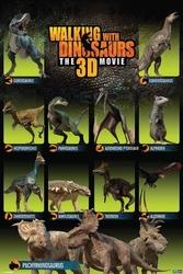 Walking with dinosaurs dinosaurs - plakat