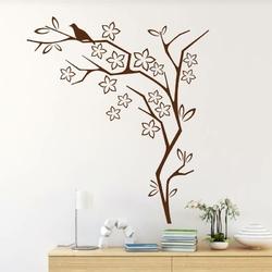 szablon malarski ptak na drzewie 21SM15