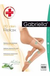 Gabriella relax medica 20 den plus visone rajstopy
