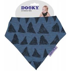 Apaszka-śliniak dooky dribble bib - blue tribal