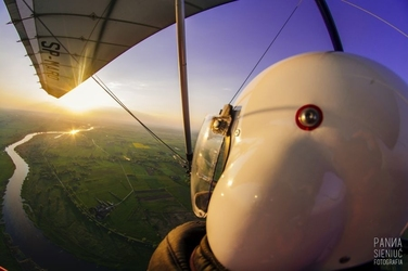 Lot motolotnią - szczecin