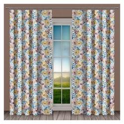 Tkanina zasłonowa floral szerokość 160 cm