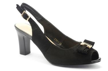 Sandały sergio leone 23051 czarny