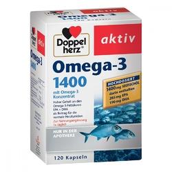 Doppelherz kapsułki z kwasem omega-3 1400 mg