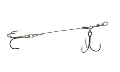 Dozbrojka dwukotwicowa 20, 12cm27kg spinning system konger