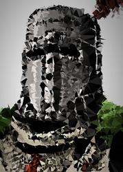 Polyamory - solaire, dark souls - plakat wymiar do wyboru: 29,7x42 cm