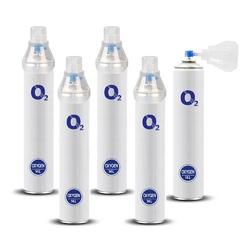 Tlen inhalacyjny w puszce tlenoterapia o2 oxygen 99 14 l - 5 szt.